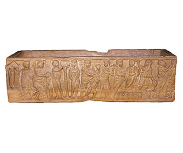 Sarcófago paleocristiano de Layos