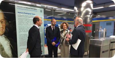 Renovación del convenio de colaboración «Correspondencia con la Historia» con Metro de Madrid