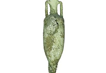 Ánfora vinaria romana