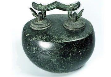Ponderal romano de piedra
