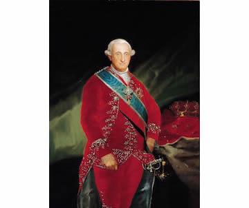 Retrato de Carlos IV