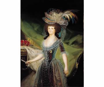 Retrato de la Reina María Luisa de Parma