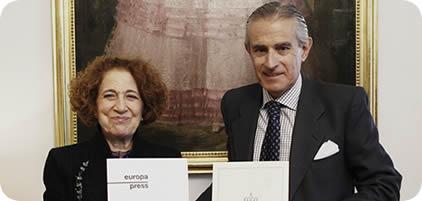 Convenio entre Europa Press y la Real Academia de la Historia