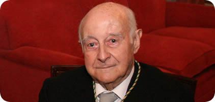 Fallecimiento de don Faustino Menéndez Pidal de Navascués, Director honorario de la Real Academia de la Historia