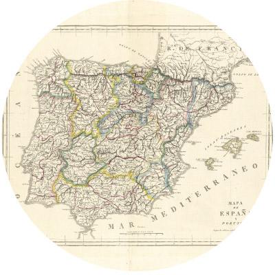DÍA 87:  LA DIVISIÓN PROVINCIAL DE ESPAÑA
