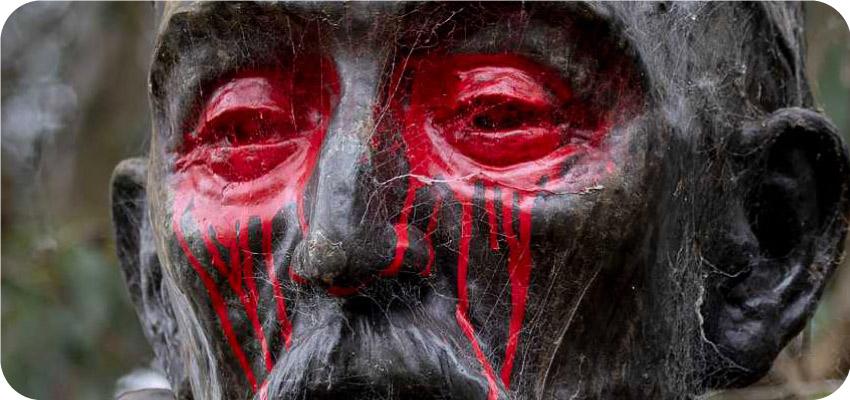 Ataques contra estatuas de personajes españoles históricos