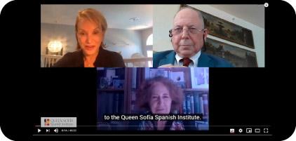 Queen Sofía Spanish Institute. Conversación con Carmen Iglesias sobre el papel de España en la Revolución Americana.