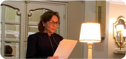 Amparo Alba Cecilia  ingresa en la Real Academia de la Historia