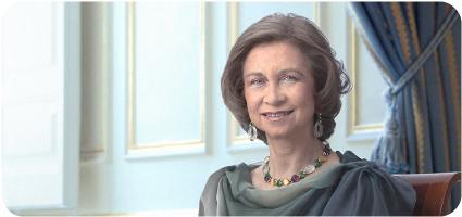 25 años de S.M. la Reina Doña Sofía como Académica de Honor